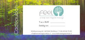 Feel Massagepraktijk Cadeaubon
